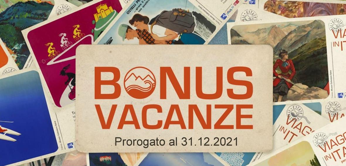 Bonus Vacanze 2021 a